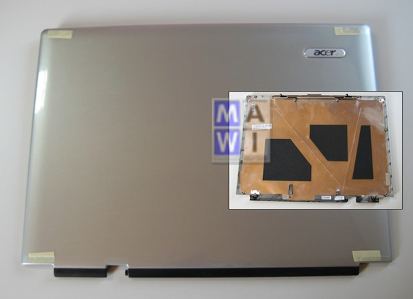 Bild von Acer Displaydeckel Display LCD Back Cover Aspire 5000 5510 60.A51V7.004