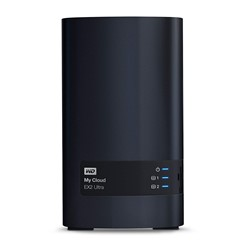 Bild von WD My Cloud EX2 Ultra NAS Server / (16.0 TB) 2 x 8 TB HDD / DLNA (NAS)